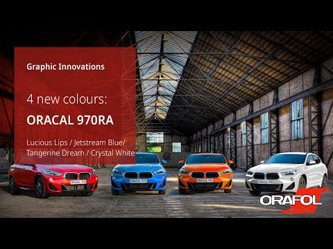 ORACAL® 970RA Premium Special Effect Cast - 4 amazing new colours