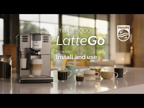 Philips LatteGO | How To Instal And Use