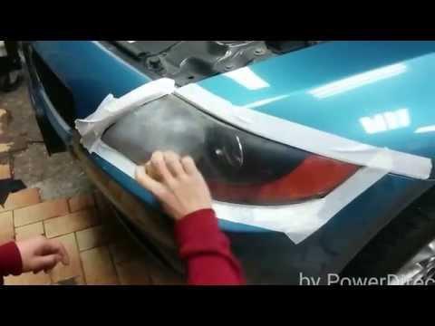 DIY How to restore headlights BMW Z4 using 3M restoration kit