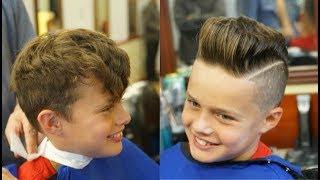 Boy's Haircut Tutorial