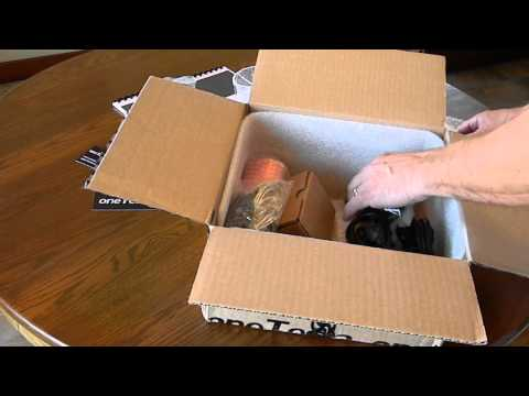 oneTesla unboxing video