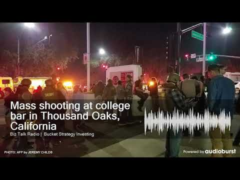 Mass shooting at college bar in Thousand Oaks, California