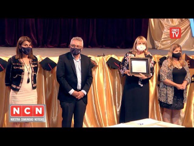 CINCO TV - El Municipio presente en el 50° aniversario del Instituto Ezequiel Martínez Estrada