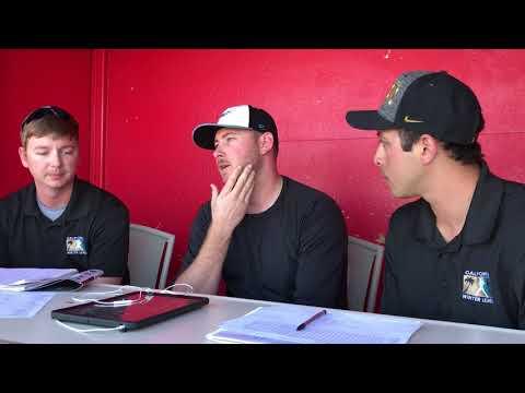 Post-Game Interview with Tyler Matzek 1/31/18
