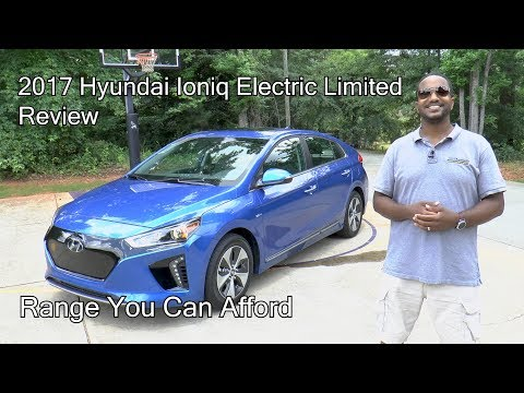 2017 Hyundai Ioniq Electric Limited Review - Range You Can Afford