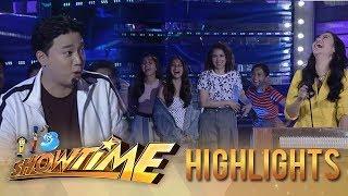 It's Showtime PUROKatatawanan: Ryan scolds Team Girls