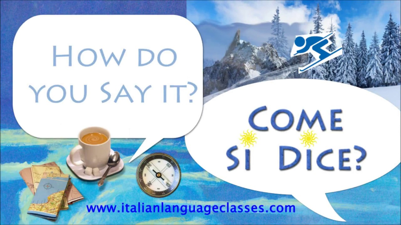 Good Evening Buona Sera Italian Greetings How Do You Say It Come