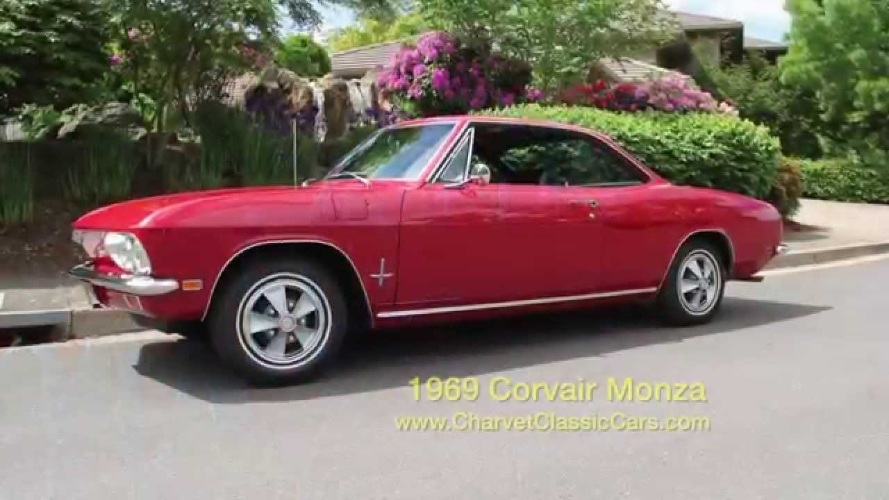 All Chevy chevy corvair monza 1969 Corvair Monza - 8,600 miles. - YouTube