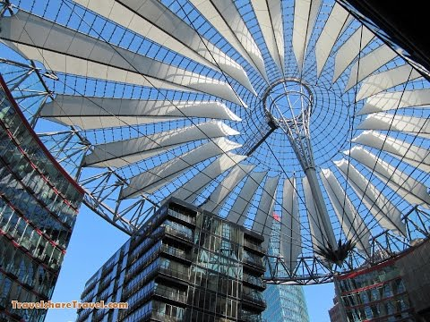Potsdamer Platz Berlin - Arkaden Shopping Centre - Sony Center - Potsdam Square Berlin