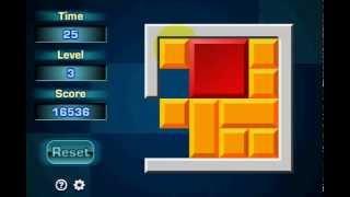 Sliding Block Puzzle 1, 2 i 3 level