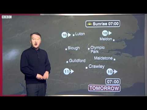 BBC Weather   London City Airport mp4