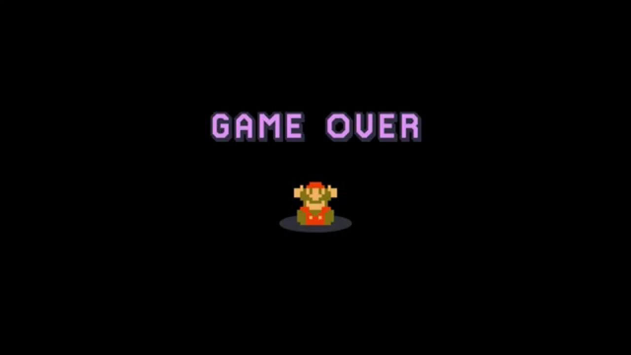Quotes Iphone Wallpaper Hd Super Mario Maker Highlight Game Over Youtube