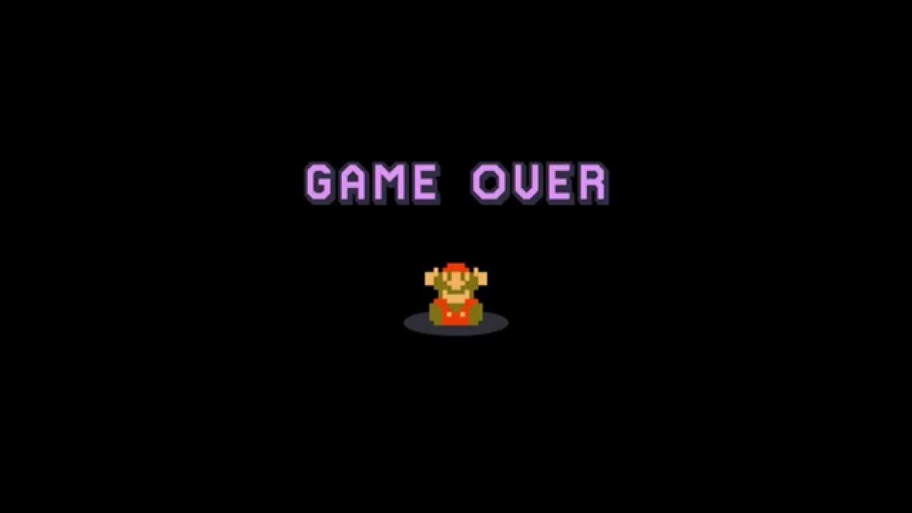 Screen Scratch Wallpaper Hd Super Mario Maker Highlight Game Over Youtube