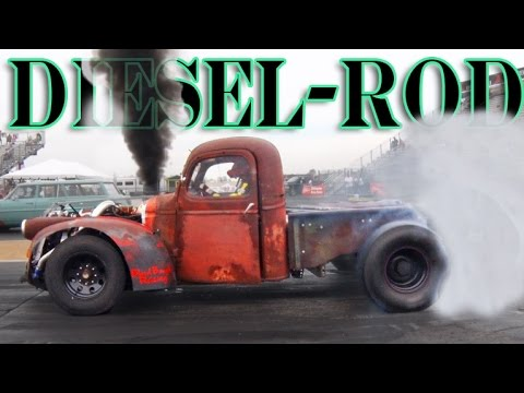 The Quot Diesel Rod Quot Turbo Diesel Rat Rod Youtube