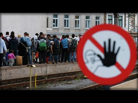 SWITZERLAND OVERRUN BY HOARD OF ASYLUM SEEKERS USING NEW ROUTE