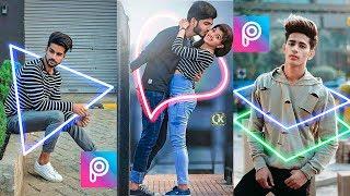 Neon Glowing Effect | Picsart Photo Editing | PicsArt Editing Tutorial [Hindi]