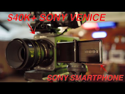 Sony Cine Camera in a Phone!