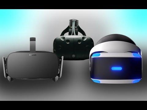 Sony PlayStation VR vs Oculus Rift vs HTC Vive | Price Battle