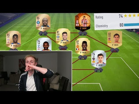 THE LOWEST RATED FUT DRAFT CHALLENGE - FIFA 18 ULTIMATE TEAM (my most dramatic video yet)