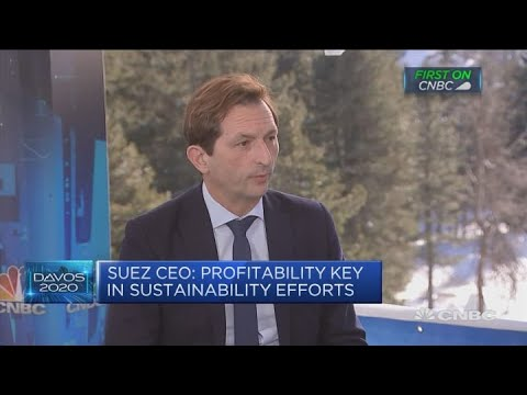 Suez transitioning to low-carbon activities, CEO says