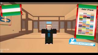ROBLOX Naruto OA - All Twitter Codes