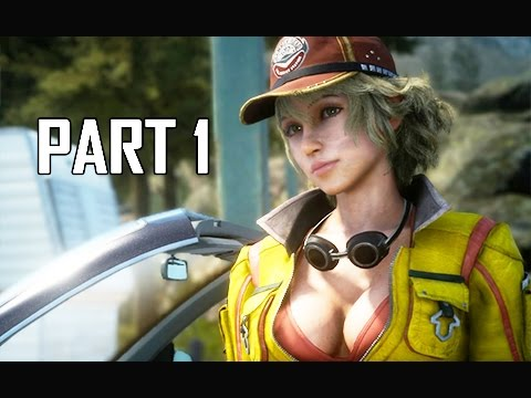 Final Fantasy 15 Walkthrough Part 1 – First 1.5 Hours! (FFXV PS4 Pro Let's Play Commentary)