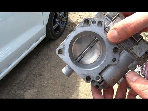 Двигатель троит при прогреве, поможет ли чистка дросселя POLO SEDAN