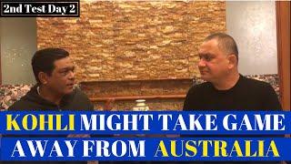 Kohli Might take game away from Australia | 2nd Test Day 2 | Caught Behind thumbnail
