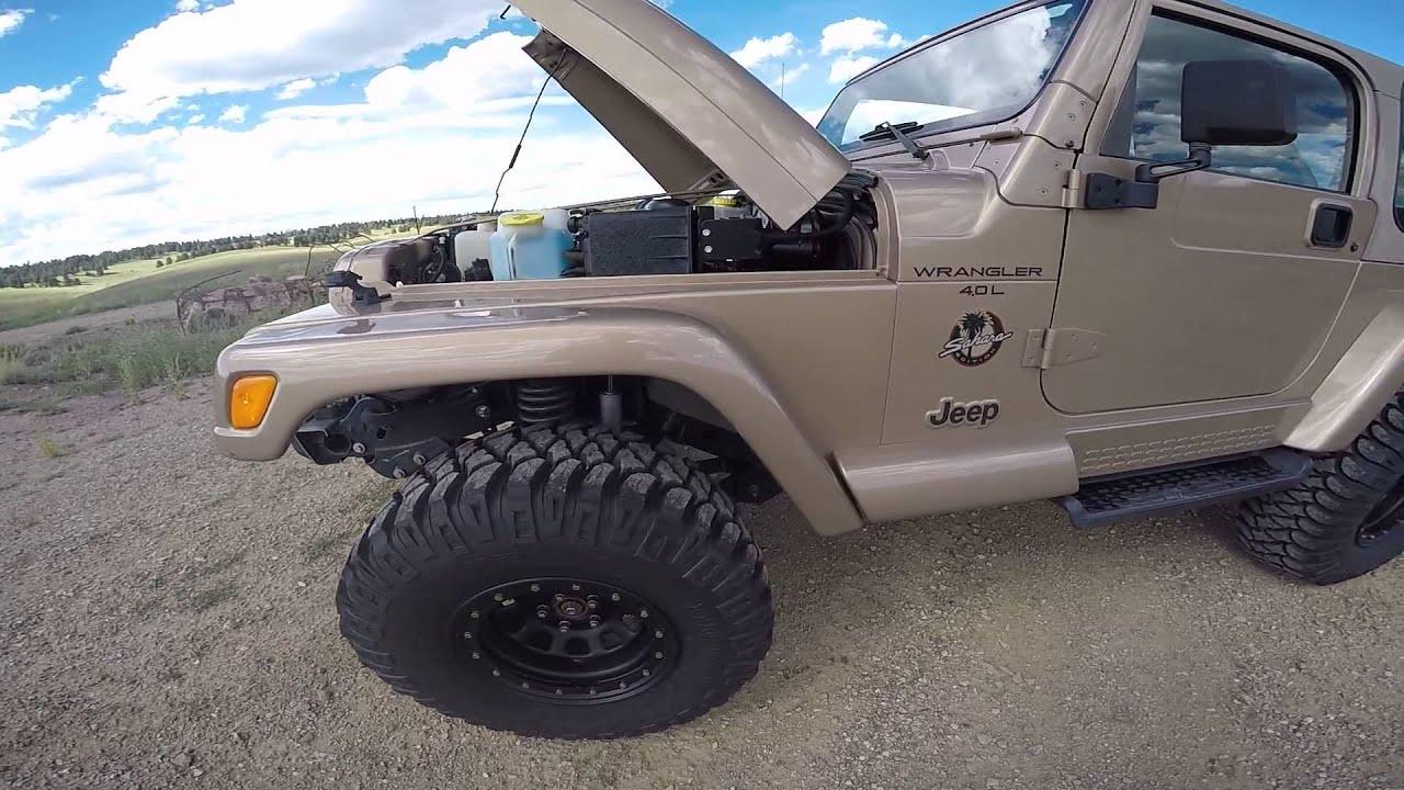 2000 Jeep Wrangler Sahara For Sale