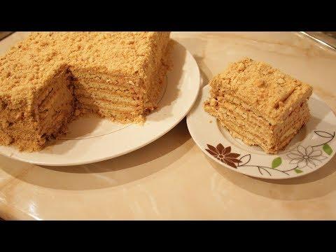 Очень вкусный торт без выпечки, из печенье