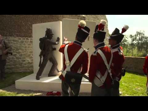 Battle Of Waterloo Memorial Unveiled In Hougoumont