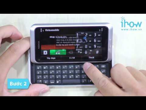 Cách reset điện thoại nokia E7