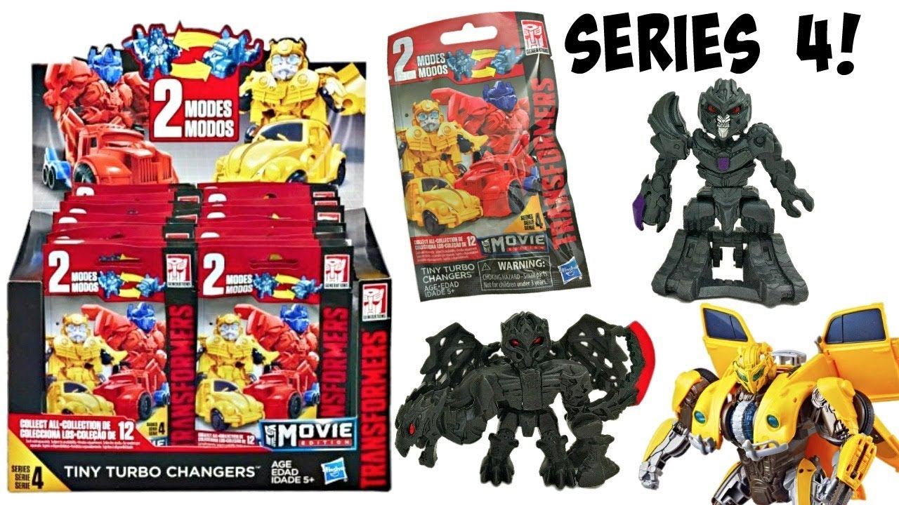 Transformers The Last Knight Tiny Turbo Changers Series 4 Dragonstorm