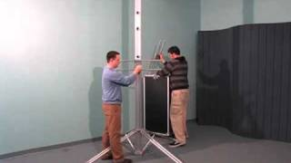 Assembly Video of LCD1POLE TV Stand