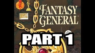 Fantasy General (Krell, Hard difficulty), 1st Continent