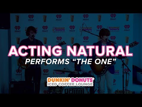 Acting Natural Performs 'The One' Live | DDICL
