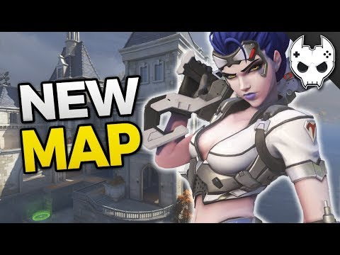 Overwatch NEW MAP - Chateau Guillard - Widowmakers Home