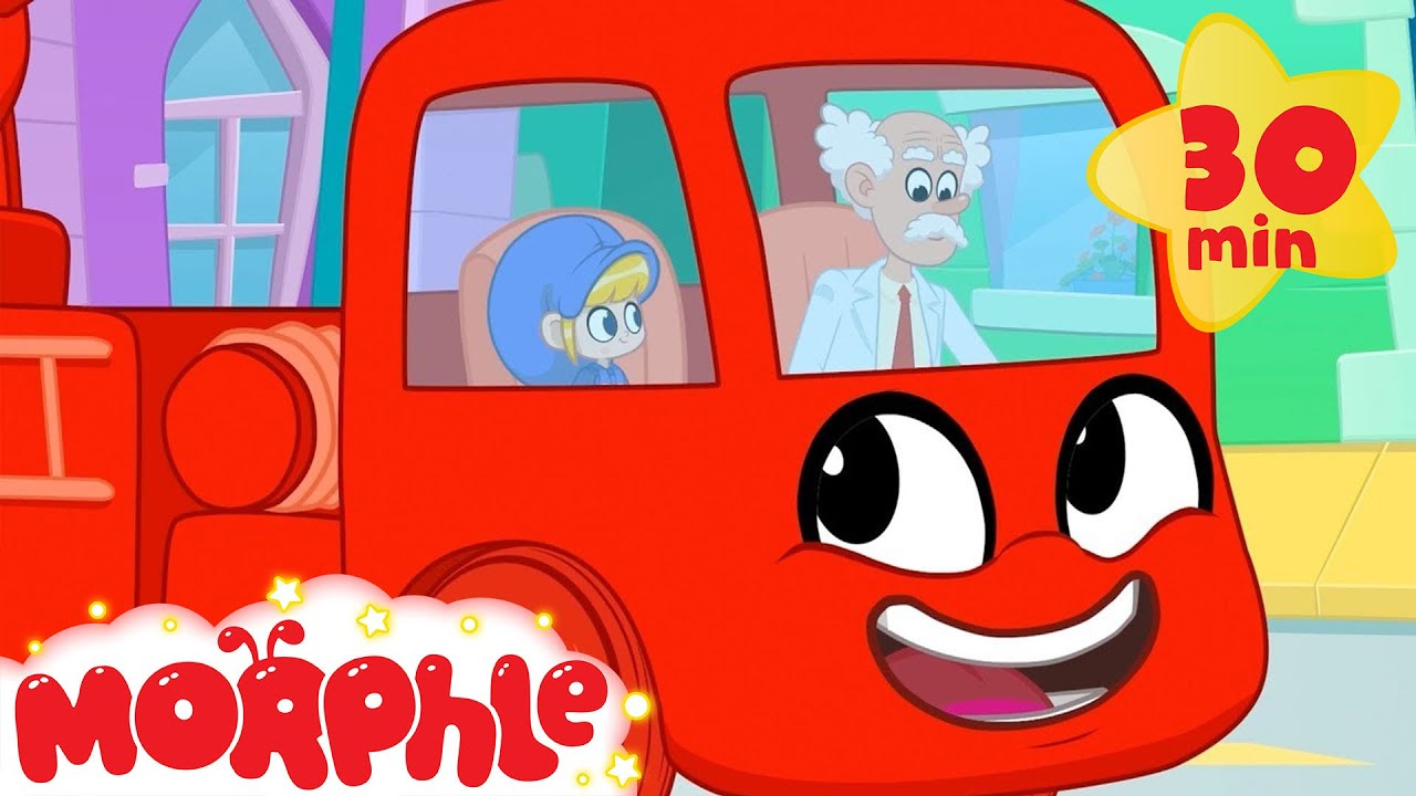 My Red Fire Truck! - My Magic Pet Morphle | Cartoons For Kids | Morphle TV | Mila and Morphle