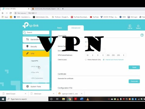 How To Setup VPN On Home Router. Tutorial