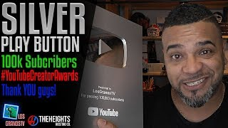 The New YouTube Silver Play Button 2018 ▶️ : LGTV Review