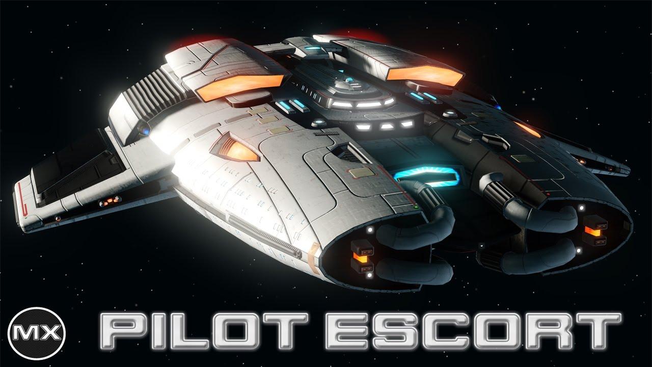 Star trek online pilot escort t6 3 piece console set youtube - Star trek online console ...