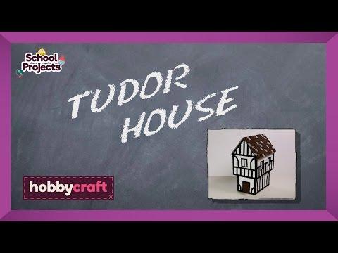 How To Make A Tudor House Hobbycraft Youtube