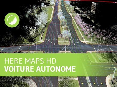 Here Maps HD : la cartographie des voitures autonomes