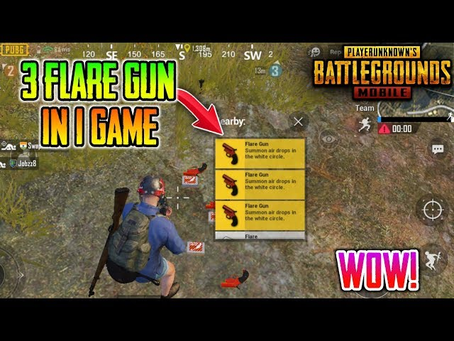 WOW????I Got 3 Flare Gun In One Game | Secret Place To Get Flare Gun In Pubg Mobile
