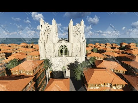 3D Reconstructed Medieval French Cathedral Of Cyprus - Lusignan Dynasty