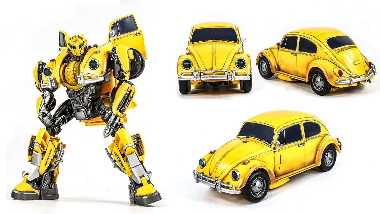 BUMBLEBEE mini ACTION FIGURE toy TRANSFORMERS 2018 MOVIE yellow vw volkswagon