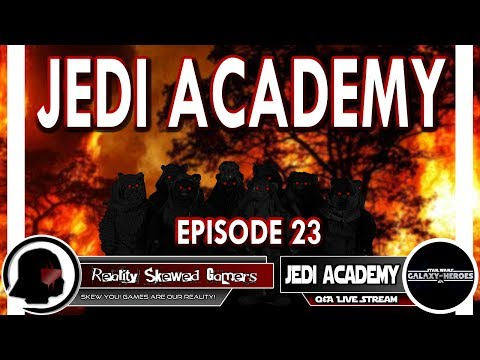 SWGOH Jedi Academy Episode 23 Live Q&A | Star Wars: Galaxy of Heroes #swgoh