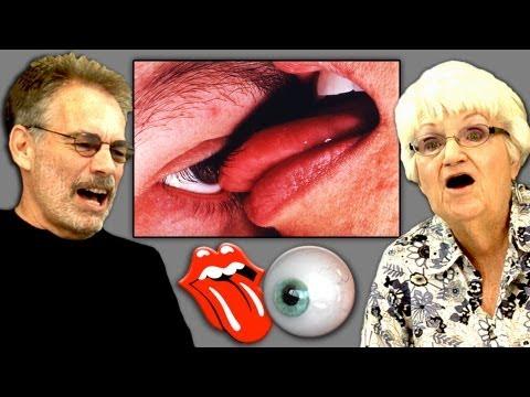 Elders React To Eyeball Licking