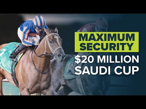 MAXIMUM SECURITY WINS THE SAUDI CUP | Full race replay