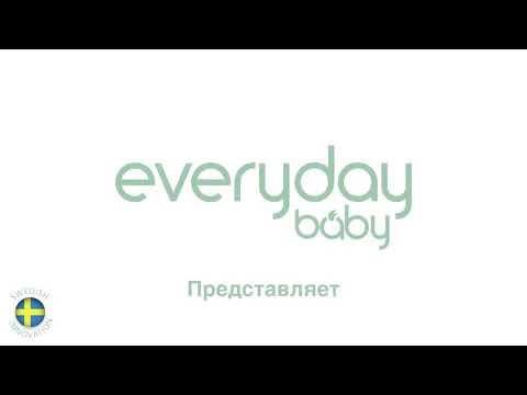 Бутылочка EveryDay Baby с индикатором температуры из стекла, 240 мл [213945]. Видео №1